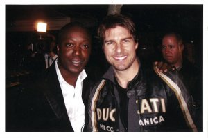 Herby Moreau et Tom Cruise