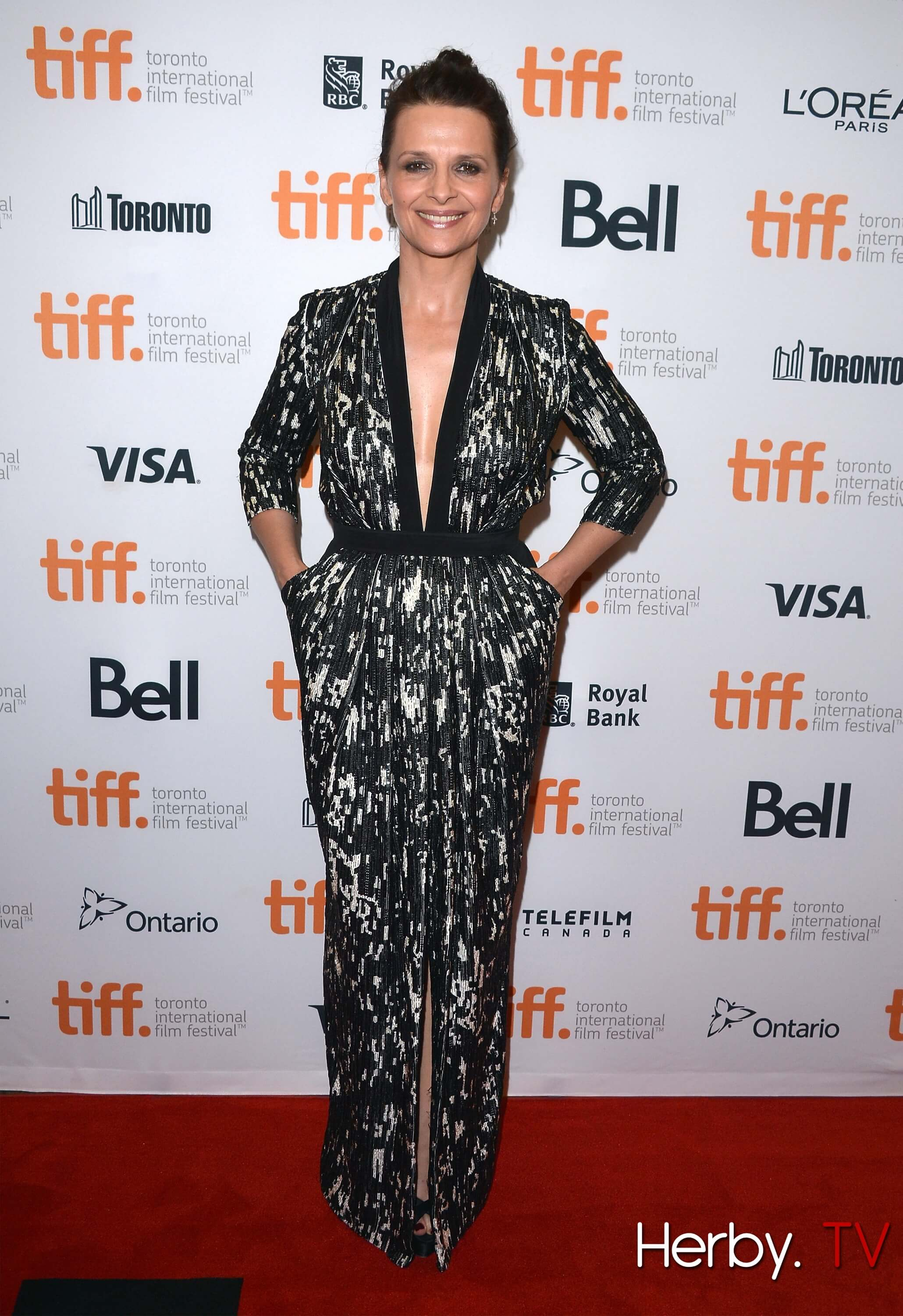 """Clouds Of  Sils Maria"" Premiere - Red Carpet - 2014 Toronto International Film Festival"