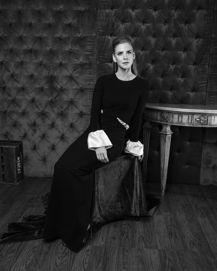 Presenter/Actress from the TV Series Sarah Rafferty poses for the CAFA portrait studio held at Fairmont Royal York Hotel on April 15th, 2016 Photo George Pimentel
